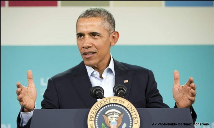 President Barrack Obama at Sunnylands Summit 2016