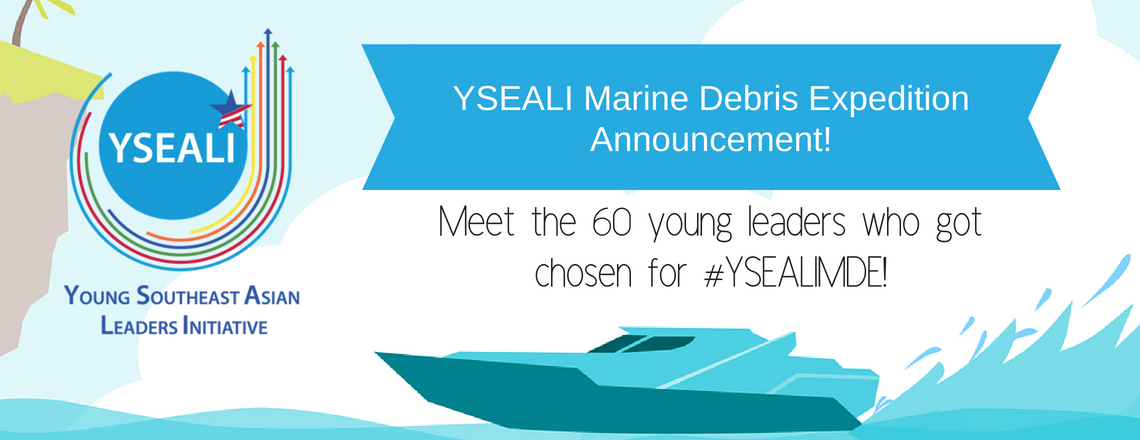 YSEALI Marine Debris Expedition